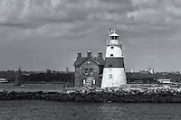 Execution Rocks Lighthouse is an active lighthouse, located in the Long Island Sound, protecting mariners traveling those waters.