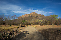 A view of Zone 5 in Ranthambhore Tiger Reserve, Rajasthan, India