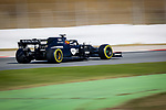 Renault F1 Team, Esteban Ocon, takes part in the tests for the new Formula One Grand Prix season at the Circuit de Catalunya in Montmelo, Barcelona. February 19, 2020 (ALTERPHOTOS/Javier Martínez de la Puente)