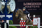 Jacqueline Lai on Capone 22 competes during the Airbus Trophy at the Longines Masters of Hong Kong on 20 February 2016 at the Asia World Expo in Hong Kong, China. Photo by Juan Manuel Serrano / Power Sport Images