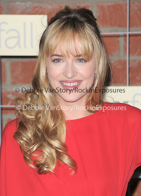 Dakota Johnson attends The FOX ECO-CASINO PARTY held at The Bookbindery in Culver City, California on September 10,2012                                                                               © 2012 DVS / Hollywood Press Agency