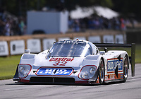 9th July 2021;  Goodwood  House, Chichester, England; Goodwood Festival of Speed; Day Two; Justin Law drives a 1993 Jaguar XJR-120 in the Goodwood Hill Climb
