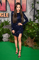 "Amber Davies<br /> arriving for the ""Jumanji: Welcome to the Jungle"" premiere at the Vue West End, Leicester Square, London<br /> <br /> <br /> ©Ash Knotek  D3358  07/12/2017"