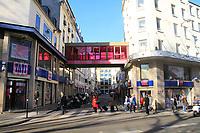 Le magasin 'Tati' ‡ Paris menacÈ de fermeture. Paris, France, 16/03/2017.