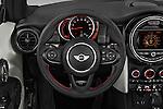 Car pictures of steering wheel view of a 2016 MINI Cooper - 2 Door Convertible Steering Wheel