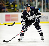 6 December 2009: University of New Hampshire Wildcats' forward Bobby Butler, a Senior from Marlborough, MA, in action against the University of Vermont Catamounts at Gutterson Fieldhouse in Burlington, Vermont. The Wildcats defeated the Catamounts 5-2 in the Hockey East matchup. Mandatory Credit: Ed Wolfstein Photo