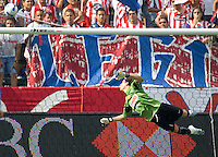 Club America GK Guillermo Ochoa. CD Chivas USA defeat of America  5-4 on penalty kicks after a 1-1 tie through regulation time in an International Friendly match at The Home Depot Center in Carson, California, Sunday July 23, 2006.