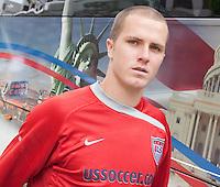 Michael Bradley. U.S. Men's National Team training at RFK Stadium  Monday October 12, 2009  in Washington, D.C.