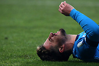 Football: Super Cup Final Juventus vs Napoli at Mapei Stadium in Reggio Emilia, on January 20,  2021.<br /> Napoli's Dries Mertens reacts during the Italian Super Cup Final match between Juventus and Napoli at Mapei Stadium in Reggio Emilia, on January 20,  2021.<br /> UPDATE IMAGES PRESS/Isabella Bonotto