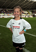 ATTENTION SPORTS PICTURE DESK<br /> Pictured: Swansea City mascot<br /> Re: Coca Cola Championship, Swansea City Football Club v Cardiff City FC at the Liberty Stadium, Swansea, south Wales. Saturday 07 November 2009
