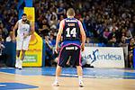 Movistar Estudiantes's Javi Salgado during Liga Endesa ACB at Barclays Center in Madrid, October 11, 2015.<br /> (ALTERPHOTOS/BorjaB.Hojas)