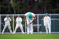 Action from day two of the provincial cricket match between Wellington A and Central Districts A at Kelburn Park in Wellington, New Zealand on Tuesday, 16 March 2021. Photo: Dave Lintott / lintottphoto.co.nz