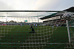 08.11.2020, Dietmar-Scholze-Stadion an der Lohmuehle, Luebeck, GER, 3. Liga, VfB Luebeck vs KFC Uerdingen 05 <br /> <br /> im Bild / picture shows <br /> Tor zum 1:0 . Torschütze/Torschuetze Ersin Zehir (VfB Luebeck)   trifft zum 10: ins Tor von Torwart Hidde Jurjus (KFC Uerdingen 05) <br /> <br /> DFB REGULATIONS PROHIBIT ANY USE OF PHOTOGRAPHS AS IMAGE SEQUENCES AND/OR QUASI-VIDEO.<br /> <br /> Foto © nordphoto / Tauchnitz