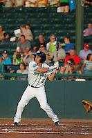 Daytona Tortugas infielder Wendell Soto (2) at bat during a game against the Tampa Yankees at Radiology Associates Field at Jackie Robinson Ballpark on June 13, 2015 in Daytona, Florida. Tampa defeated Daytona 8-6. (Robert Gurganus/Four Seam Images)