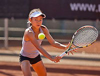 Netherlands, Rotterdam August 07, 2015, Tennis,  National Junior Championships, NJK, TV Victoria, Gigi Sy-A-Foeck<br /> Photo: Tennisimages/Henk Koster