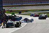 #19: Brandon Jones, Joe Gibbs Racing, Toyota Camry Menards Mastercraft Doors makes a pit stop