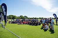 Prize giving  during the Gillette Cup Finals, Hagley Park, Christchurch, New Zealand. 5th December 2019. Photo: John Davidson, www.bwmedia.co.nz