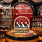 Portugal, Madeira, Funchal: Wine Bodega Display | Portugal, Madeira, Funchal: Madeira-Wein