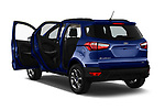 Car images close up view of a 2018 Ford Ecosport Business Class 5 Door SUV doors