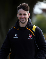 Tuesday 3rd May; Sam Carter<br /> Ulster Rugby Training at Perrie Park, Belfast, Northern Ireland. Photo by John Dickson/Dicksondigital