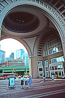 Boston:  Rowes Wharf.  Photo '91.