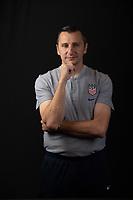 Kansas City, KS - Friday, October 25, 2019 : Newly named USWNT head coach Vlatko Andonovski poses for a photo at the National Development Center in Kansas City, Kansas.