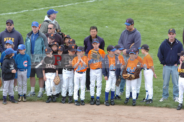 Pleasanton National Little League Opening Ceremonies March 14, 2009.