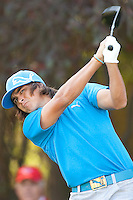 December 2, 2011: Rickie Fowler during the second round of the Chevron World Challenge held at Sherwood Country Club, Thousand Oaks, CA.