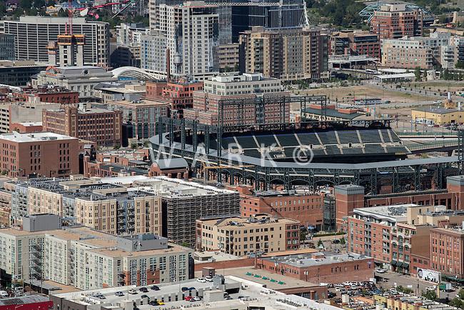 Coors Field, LODO Denver. Aug 20, 2014. 812852