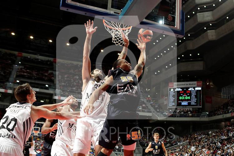 EA7 Emporio Armani Milan´s Jerrells during Euroleague Basketball match. November 01,2013. (ALTERPHOTOS/Victor Blanco)