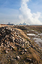 Brownfield site, Kingston upon Hull, East Yorkshire, England, UK.