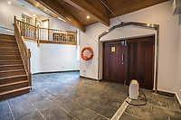 BNPS.co.uk (01202 558833)<br /> Pic: March&Petit/BNPS<br /> <br /> Pictured: The hall.<br /> <br /> The ultimate riverside lifestyle is up for grabs with this waterfront home on the market for £3m.<br /> <br /> Rosebank is in an unrivalled spot on the banks of the River Dart, close to a historic church and castle, with spectacular views over the water.<br /> <br /> The three-bedroom property in Dartmouth, Devon, has its own boathouse and direct access to the river, as well as a superb riverside terrace.<br /> <br /> The house is close to the mouth of the river, with St Petrox Church and Dartmouth Castle as its neighbours, which are just visible from the veranda.