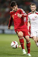 Spain's Alvaro Morata during 15th UEFA European Championship Qualifying Round match. November 15,2014.(ALTERPHOTOS/Acero) /NortePhoto nortephoto@gmail.com
