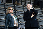 St Johnstone v Partick Thistle…28.04.18…  McDiarmid Park    SPFL<br />Thumbs up from Martin Keown and his wife<br />Picture by Graeme Hart. <br />Copyright Perthshire Picture Agency<br />Tel: 01738 623350  Mobile: 07990 594431