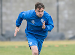 St Johnstone Training…12.05.17<br />Paul Paton pictured during training today ahead of tomorrow's game against Partick Thistle<br />Picture by Graeme Hart.<br />Copyright Perthshire Picture Agency<br />Tel: 01738 623350  Mobile: 07990 594431