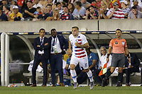 PHILADELPHIA, PENNSYLVANIA - JUNE 30: Jordan Morris #11 during the 2019 CONCACAF Gold Cup quarterfinal match between the United States and Curacao at Lincoln Financial Field on June 30, 2019 in Philadelphia, Pennsylvania.