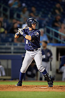 San Antonio Missions pinch hitter Alberth Martinez (21) at bat during a game against the Tulsa Drillers on June 1, 2017 at ONEOK Field in Tulsa, Oklahoma.  Tulsa defeated San Antonio 5-4 in eleven innings.  (Mike Janes/Four Seam Images)