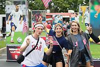 NASHVILLE, TN - SEPTEMBER 5: US Soccer FanHQ at Nissan Stadium on September 5, 2021 in Nashville, Tennessee.