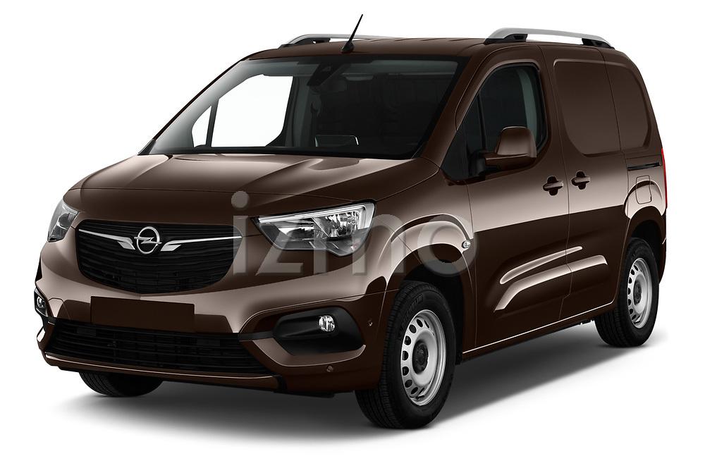 2019 Opel Combo Dynamic 4 Door Car van angular front stock photos of front three quarter view