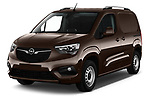 2019 Opel Combo Dynamic 4 Door Car van angular front stock photos of front three quarter view