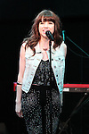 September 15, 2012, Tokyo, Japan - Carly Rae Jepsen performs on a event in Shibuya. She is in Japan to promote her new album 'This Kiss' which is planned to be released in Japan on September 19. (Photo by AFLO).
