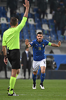 Alessandro Florenzi of Italy during the Uefa Nation League Group Stage A1 football match between Italy and Poland at Citta del Tricolore Stadium in Reggio Emilia (Italy), November, 15, 2020. Photo Andrea Staccioli / Insidefoto