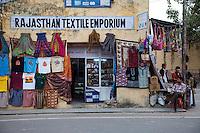 Jaipur, Rajasthan, India.  Souvenir Shop.