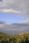 Israel, Jerusalem mountains, Moshav Givat Yearim founded in 1950