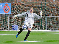 Club Brugge Dames - Rassing Harelbeke : Celine Finet.foto DAVID CATRY / Vrouwenteam.Be