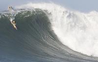 Mavericks Surf Contest in Half Moon Bay, California on February 13th, 2010.