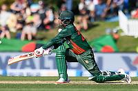 23rd March 2021; Christchurch, New Zealand;  Tamim Iqbal of Bangladesh during the 2nd ODI cricket match, Black Caps versus Bangladesh, Hagley Oval, Christchurch, New Zealand.