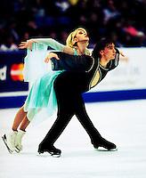 Elena Grushina and Ruslan Goncharov Ukraine Skate Canada. Photo copyright Scott Grant