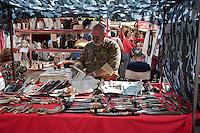 San Telmo sunday market Buenos Aires Argentina