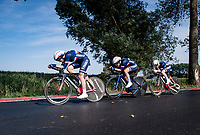 Womens Team France<br /> <br /> Mixed Relay TTT <br /> Team Time Trial from Knokke-Heist to Bruges (44.5km)<br /> <br /> UCI Road World Championships - Flanders Belgium 2021<br /> <br /> ©kramon